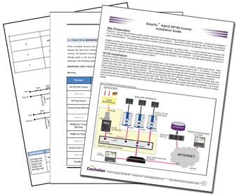 Cachelan Solarvu Pv Inverter Monitoring